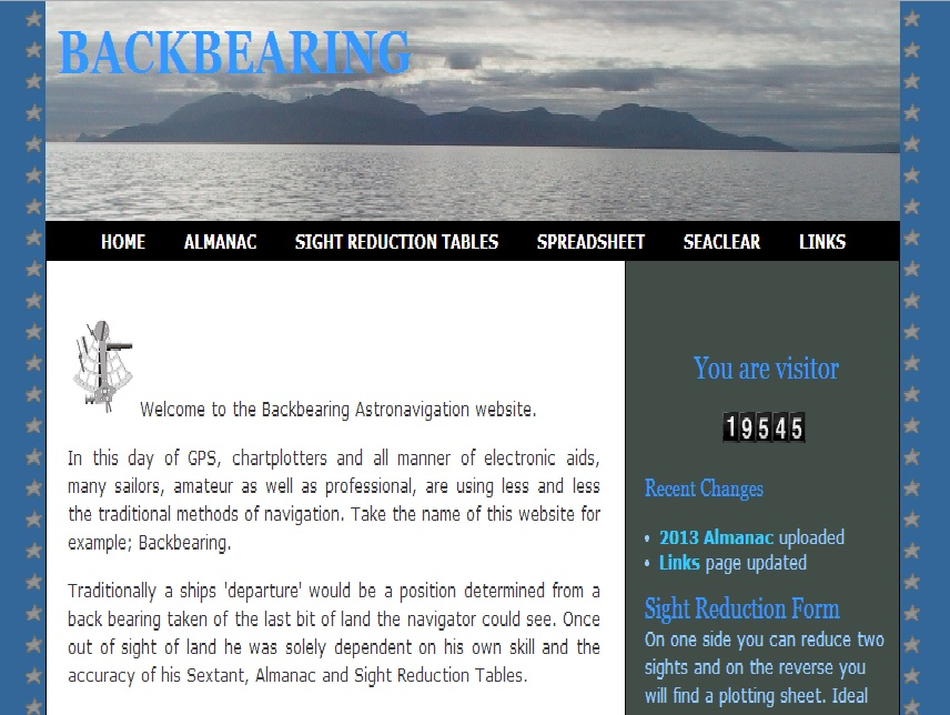 Backbearing website